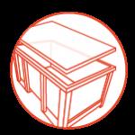 MULTIMATERIAUX | Caisse reutilisable